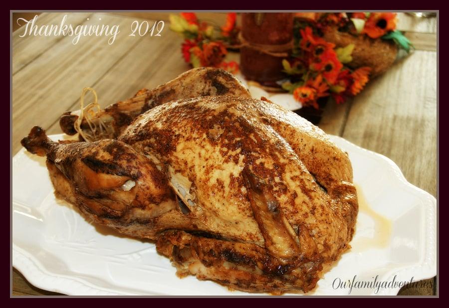 2012 Thanksgiving Turkey From Popeye 39 S Turkey