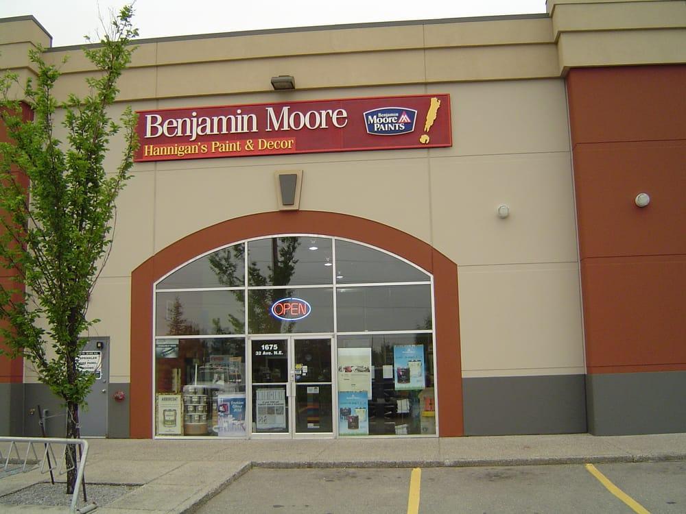 Benjamin Moore Home Decor 1675 32 Avenue NE Calgary AB Canada Phone