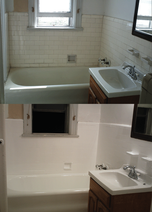 Full Bathroom Refinishing Yelp