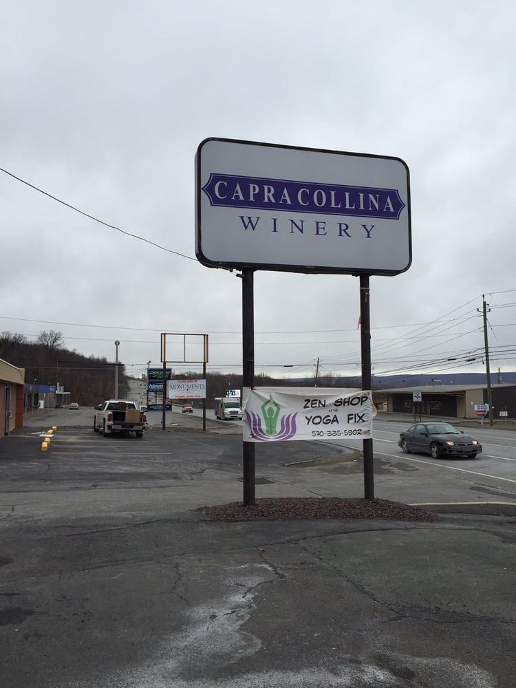 Capra Collina Winery: 1971 Scranton Carbondale Hwy, Blakely, PA