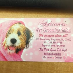 Adrianas pet grooming salon pet groomers 912 broadway for About you salon bayonne nj