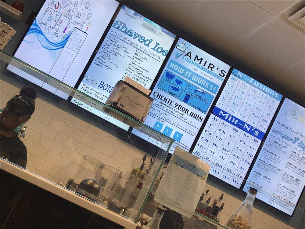 Amir's Nitrogen Ice Parlor: 1245 Caroline St NE, Atlanta, GA