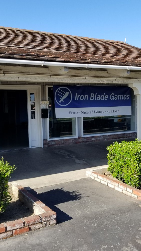 Iron Blade Games: 14934 Camden Ave, San Jose, CA