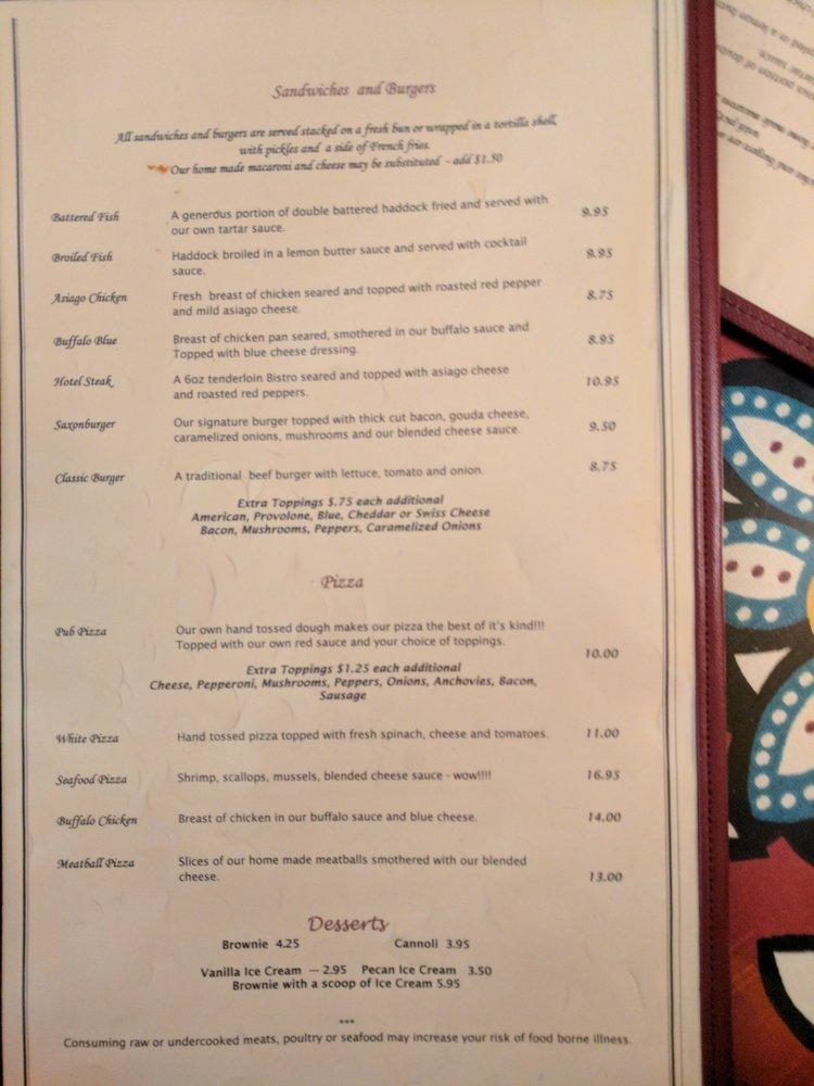 Zottola's Pub & Eatery: 5068 Bakerstown Culmerville Rd, Tarentum, PA