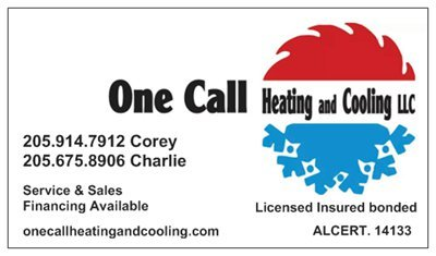 One Call Heating and Cooling: 3016 Euiel Motte Dr, Warrior, AL
