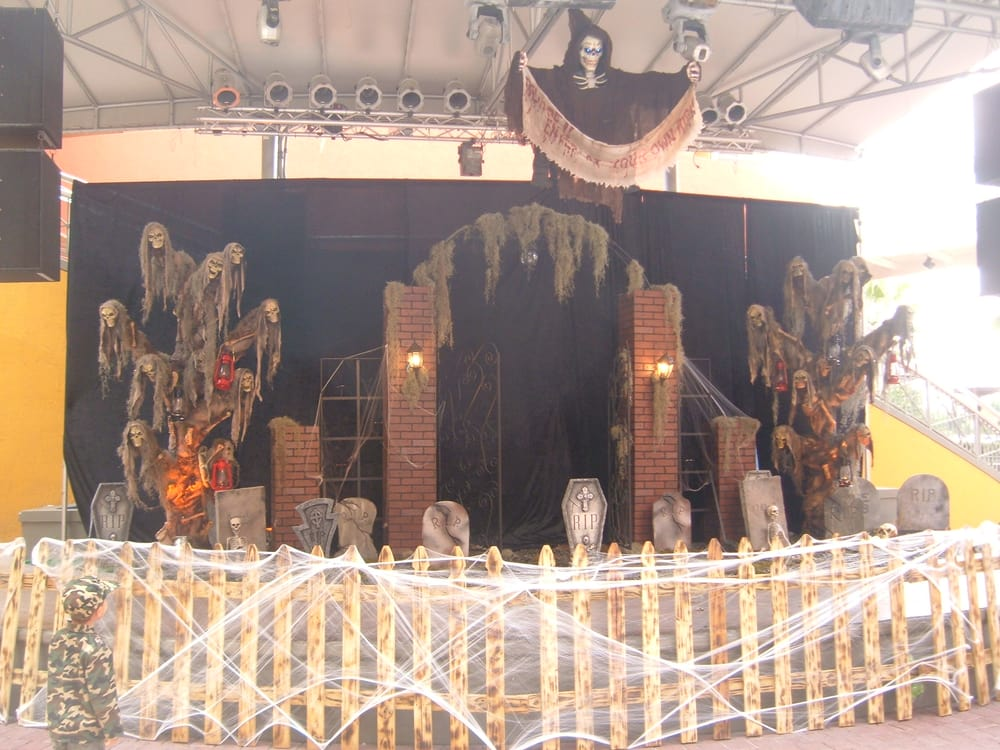 photo of superstar productions miramar fl united states halloween stage backdrop