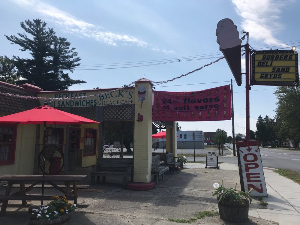 Beck's Village Cafe & Ice Cream: 5349 Main St, Lexington, MI