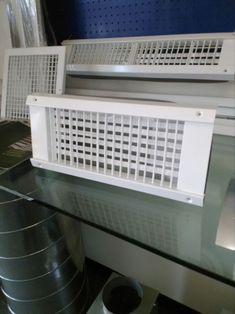 Our new sidewall supply grill for spiro duct yelp