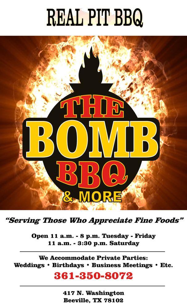 The Bomb Bbq: 417 N Washington St, Beeville, TX
