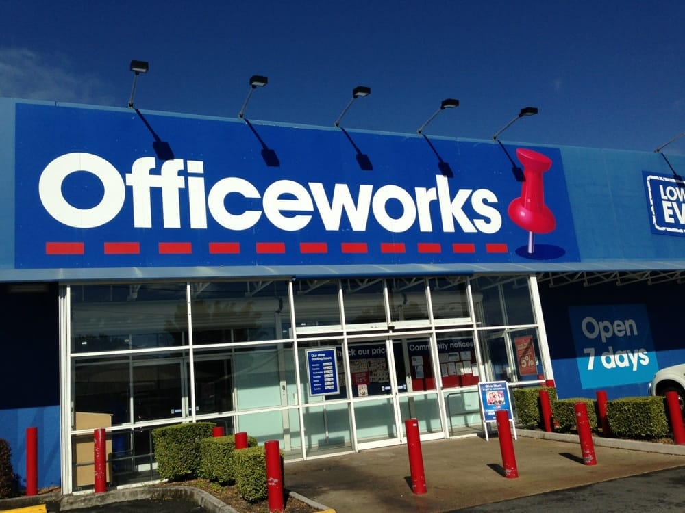Officeworks  Printing  Photocopying  164176 Ipswich Rd