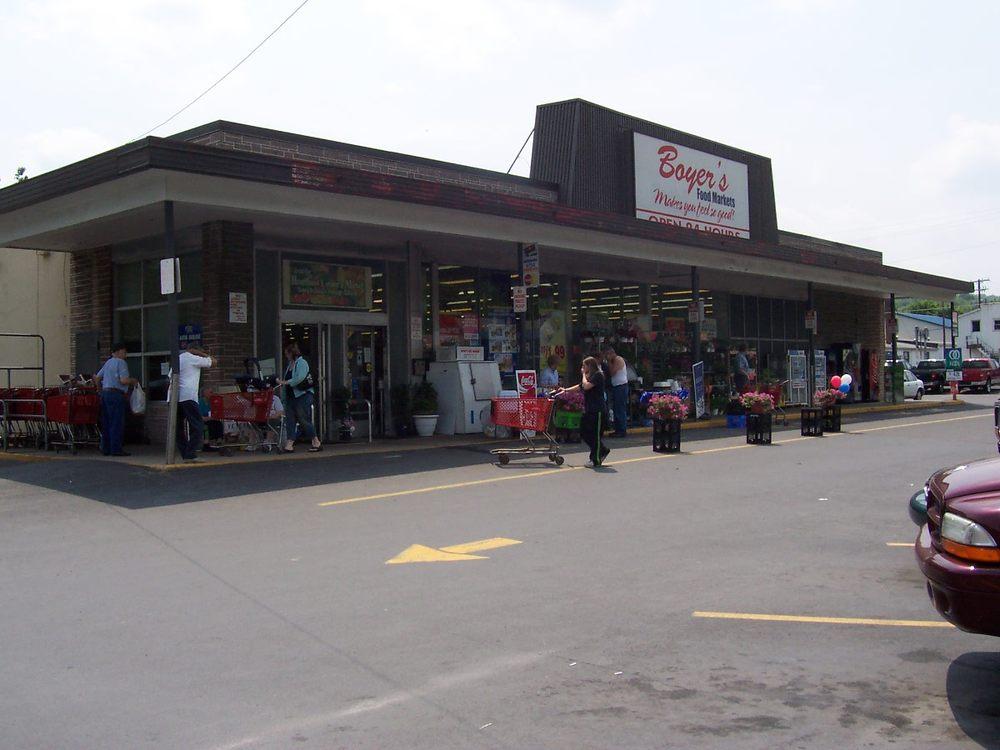 Boyers Food Markets: 150 E Centre St, Ashland, PA