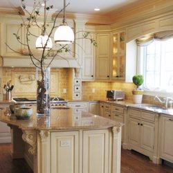amusing cream kitchen cabinets | Classic Rock Fabrication - 11 Photos - Building Supplies ...