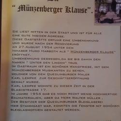 Münzenberger Klause Deutsch Pölle 22 Quedlinburg Sachsen