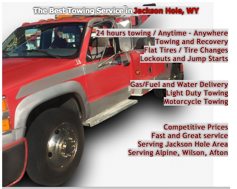 Towing business in Jackson, WY