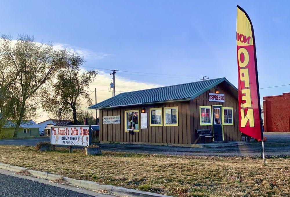 The Round Up Coffee House: 90 N Superior St, Cambridge, ID