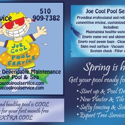 pool service flyers. Photo Of Joe Cool Pool Service - Castro Valley, CA, United States. 2013 Flyers O