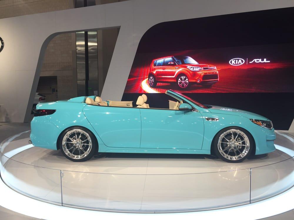 Auto Show KIA Car In Tiffany Blue Box Color Yuck Yelp - Philadelphia convention center car show