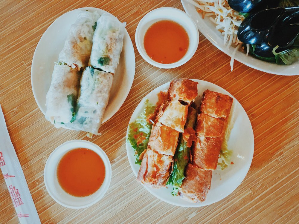 Food from Quang Restaurant