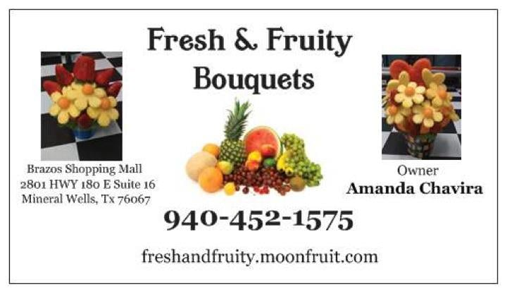Fresh and Fruity Bouquets & Bakery: 313 N Oak Ave, Mineral Wells, TX