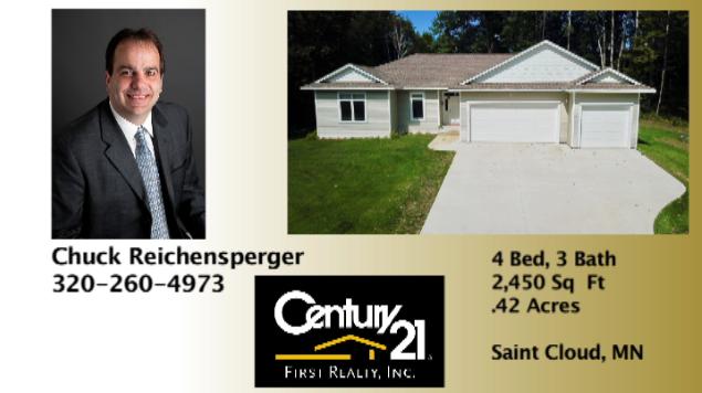 Chuck Reichensperger - Century 21 First Realty: 24 Division St, Waite Park, MN