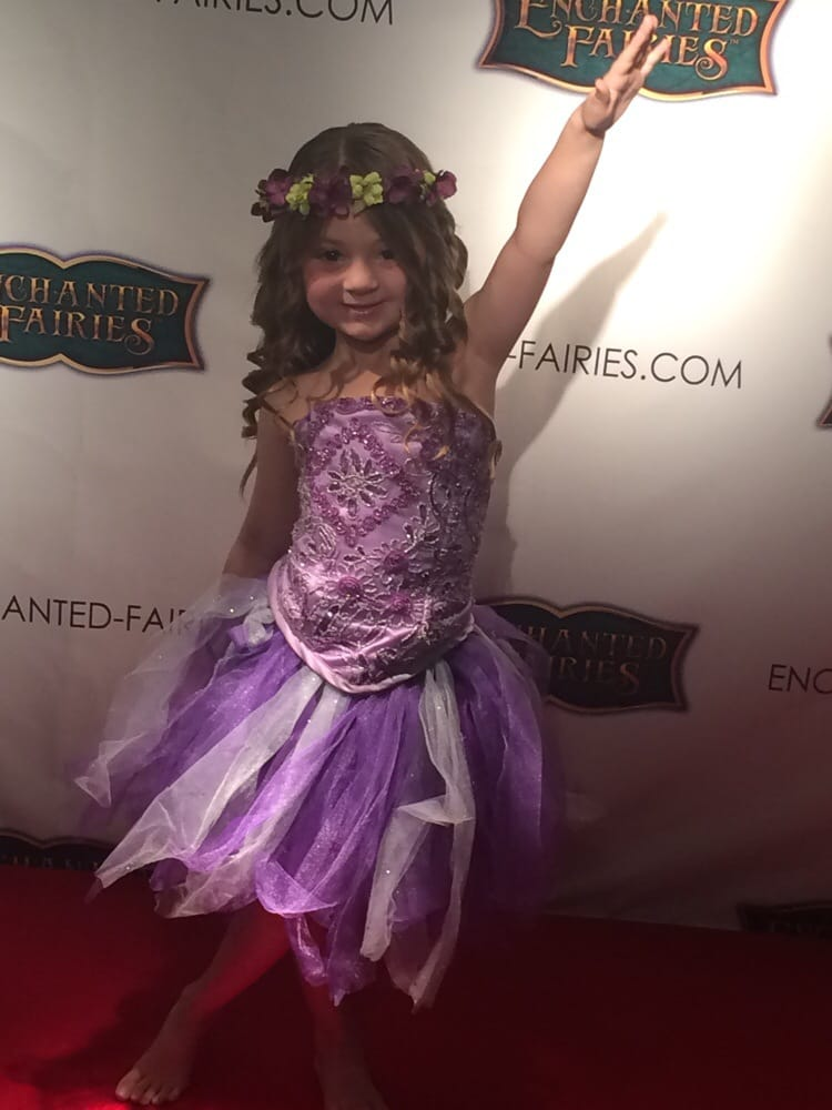 My Little Fairy On The Enchanted Fairies Red Carpet Loved