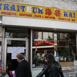 Hai fa fast food 15 rue des martyrs pigalle paris for Restaurant miroir rue des martyrs