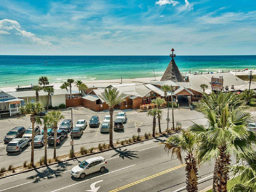 Sharky S Beachfront Restaurant Panama City Beach Fl