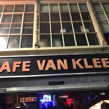 Cafe Van Kleef Oakland Ca