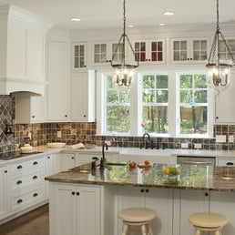 Photo Of Shoreline Cabinet Company Wilmington Nc United States Inset White Kitchen