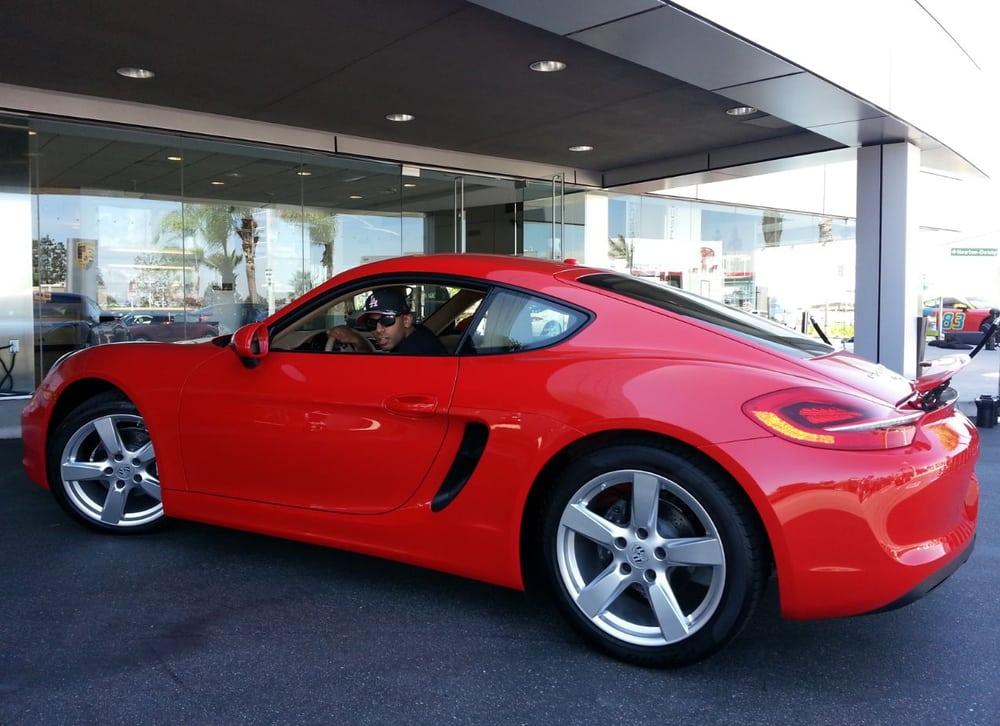 My Son Buys A 2014 Cayman 19 June 2014 Pacific Porsche