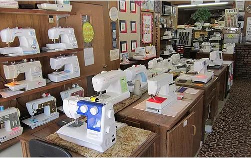 Jaeger Sewing Machine Center: 212 Main St Hwy 28, Kewaskum, WI