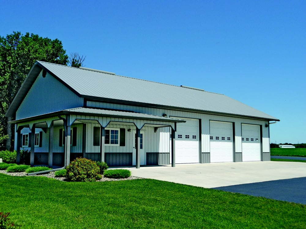 Northland buildings contractors 2894 58th st eau for Converting a pole barn into a house