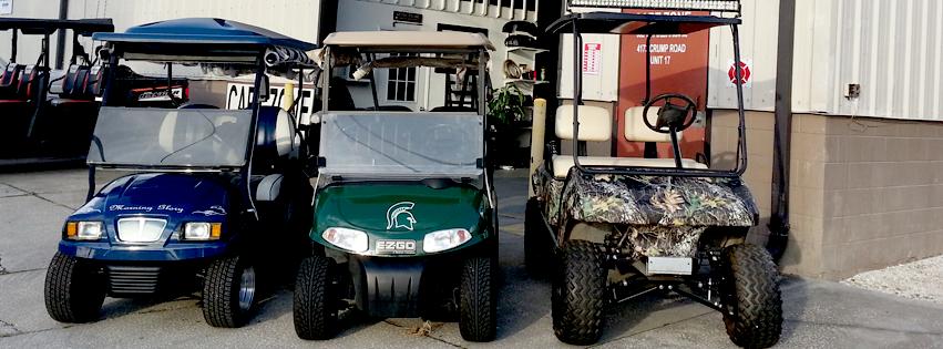 Cart Zone: 30008 US Hwy 27, Lake Hamilton, FL