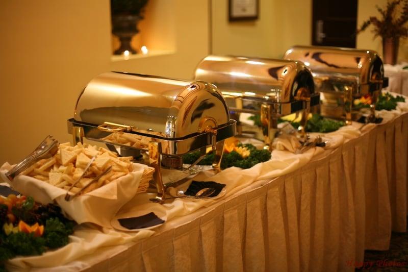 Superbe Photo Of Center Catering   Yorba Linda, CA, United States. Elegant Buffet  Set