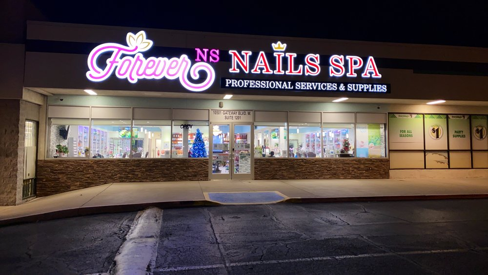 Forever Nails Spa: 10501 Gateway Blvd W, El Paso, TX