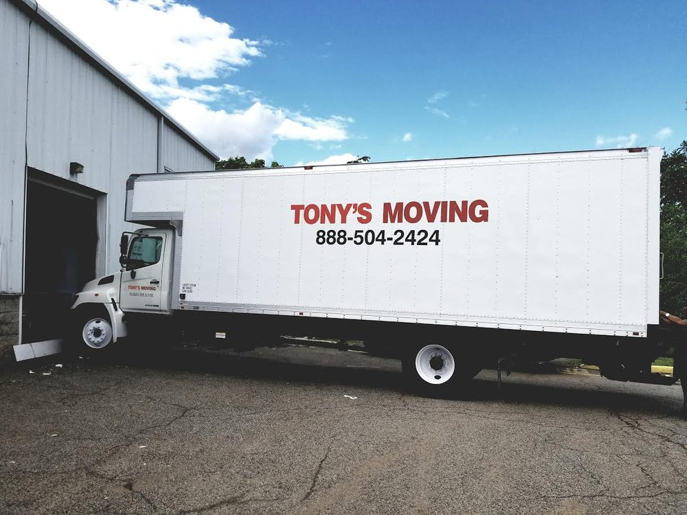 Tony's Moving