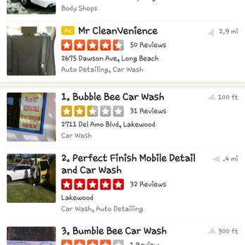 Bee Wash Car Detailing
