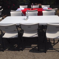 Photo Of Ab Chriss Table Chair Rentals Gilroy Ca United States