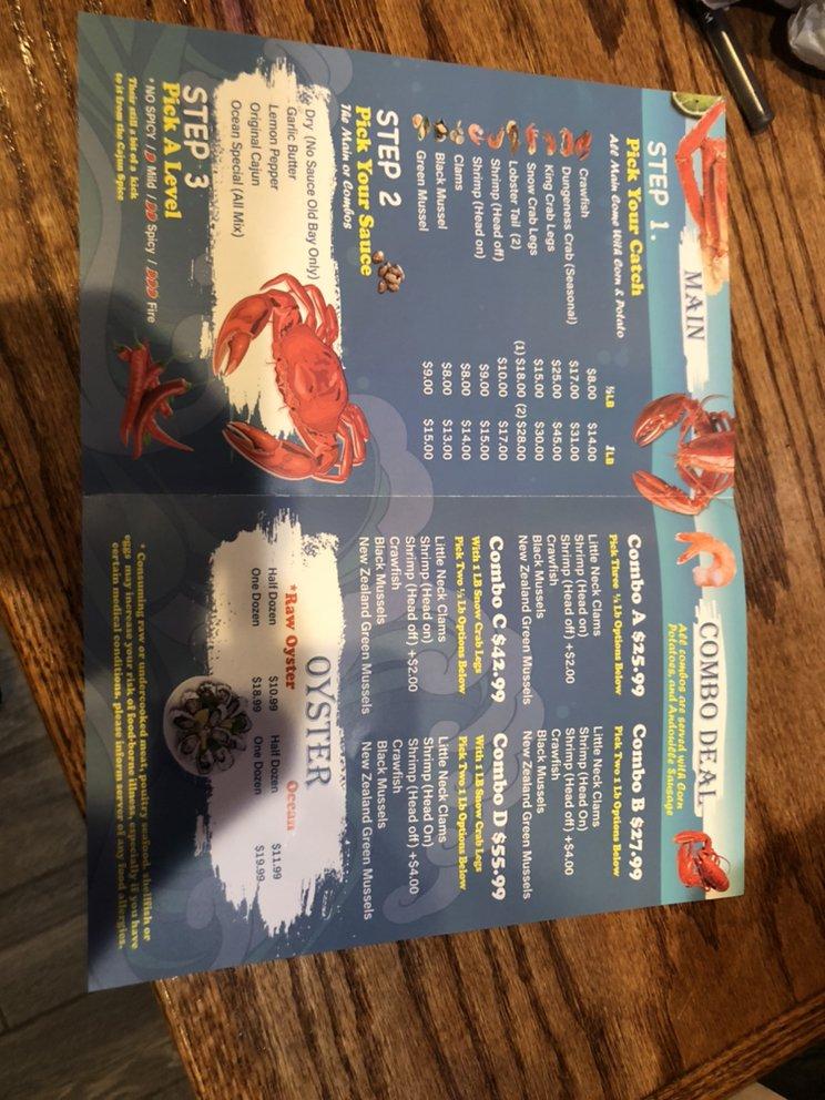 Ocean Crab House: 3101 S Macarthur Blvd, Springfield, IL