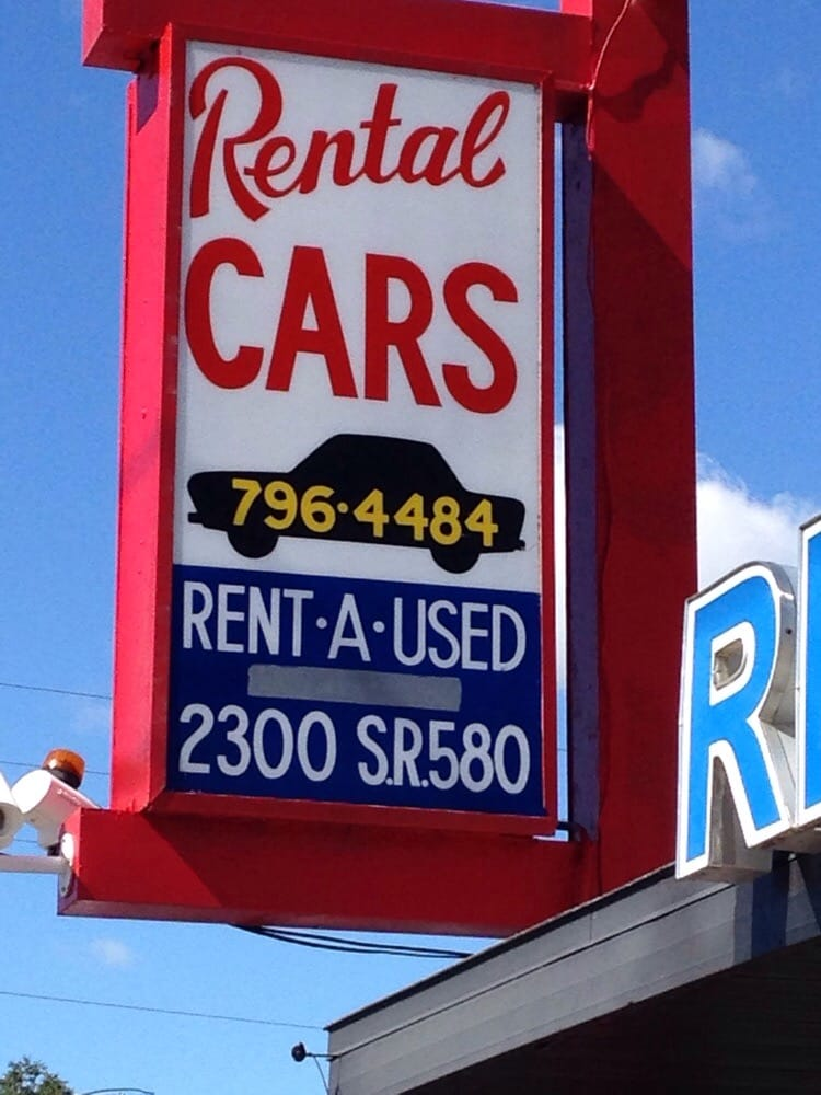Rent A Used Car Rental: 2300 State Road 580, Clearwater, FL