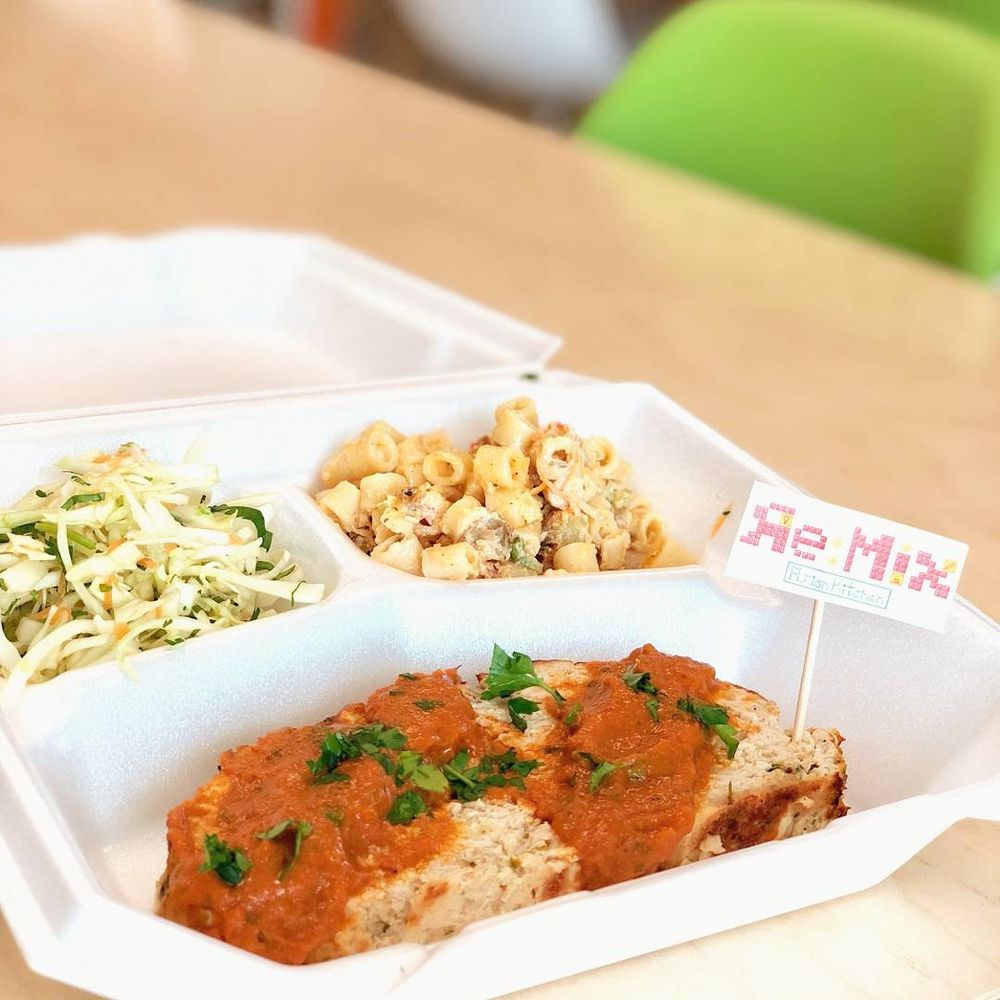 Food from ReMix Asian Kitchen & Ramen
