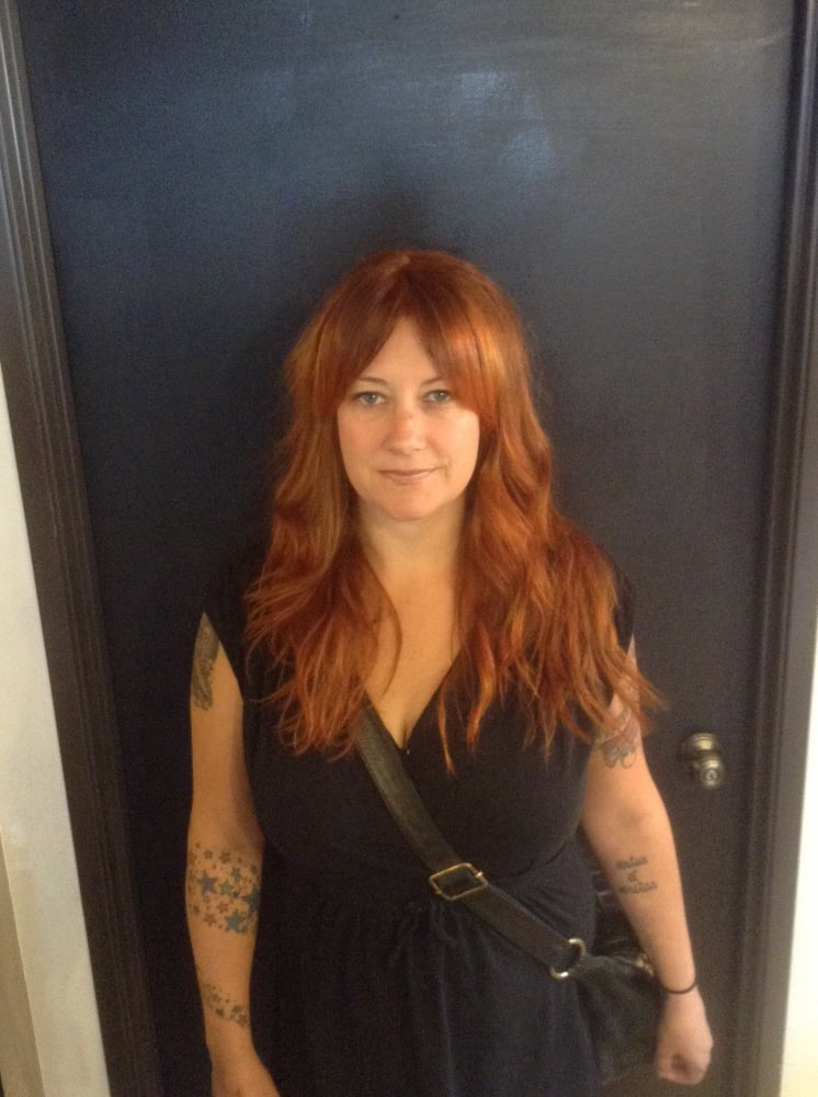 Amazing and bright copper red blend by april yelp for 77 salon portland