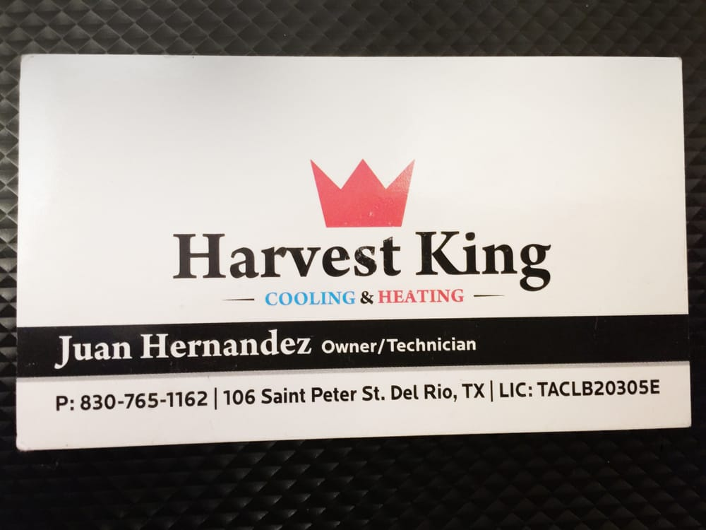 Harvest King Cooling and Heating: 106 Saint Peter St, Del Rio, TX