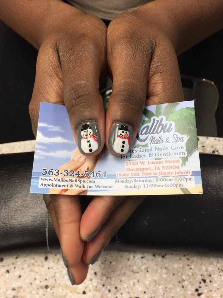 Malibu Nails & Spa: 1323 W Locust St, Davenport, IA