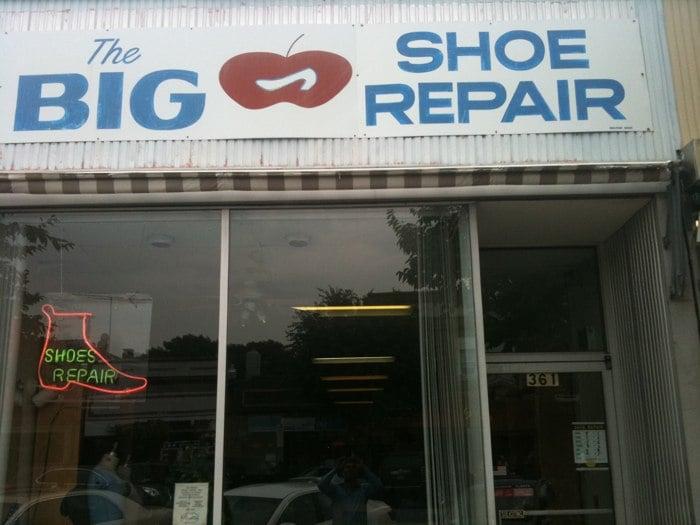 Big Apple Shoe Repair: 361 Mamaroneck Ave, Mamaroneck, NY