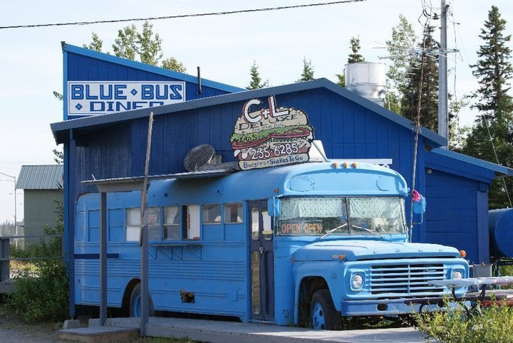Blue Bus Diner: 33925 Sterling Hwy, Anchor Point, AK