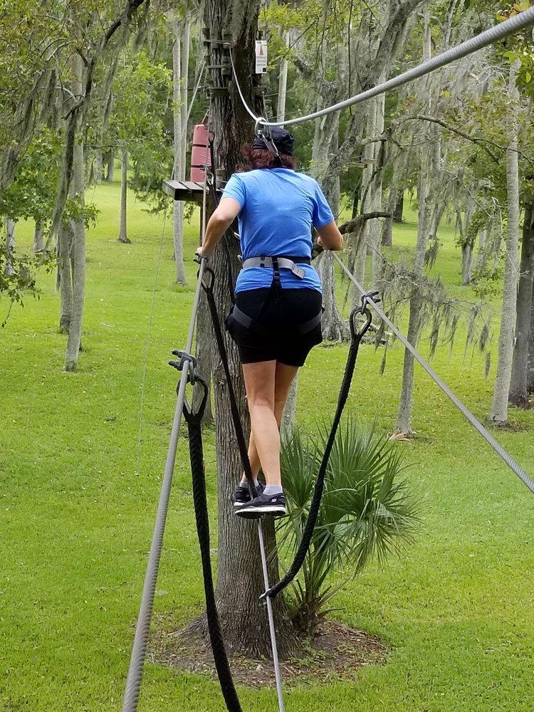 Social Spots from Daytona Beach Zipline Adventure
