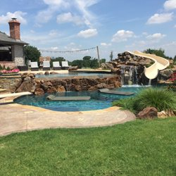 Photo Of Tlc Pools And Spas Sherman Tx United States Boulder Features