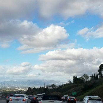 405 and 101 Freeway Interchange - San Diego Fwy, Sherman Oaks, Los