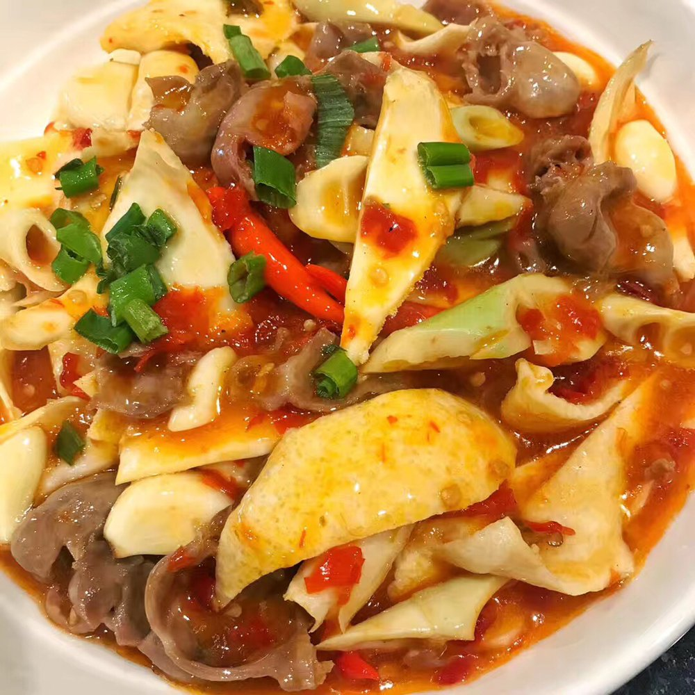 Food from Bashu Sichuan Cuisine